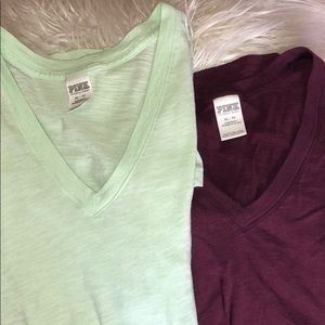 VS simple V neck shirt BUNDLE